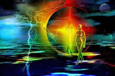 hologramme et prisme